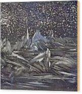 Dawn Of The Moon Wood Print