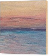 Dawn Over Troy Wood Print