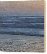 Dawning Wood Print