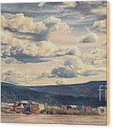 Dawson City Wood Print