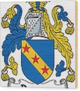 Dawson Coat Of Arms Londonderry Ireland Wood Print