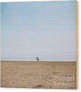Day At The Beach IIi Wood Print