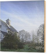 Day Break At The Farm Wood Print by Alana Ranney
