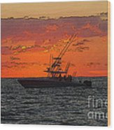 Day Break Wood Print
