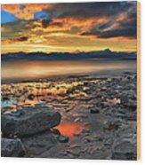 Daybreak In Craigleith Wood Print