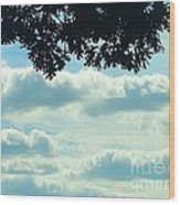 Day Dreaming With Clouds Wood Print