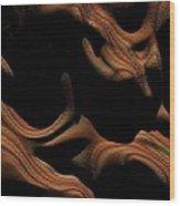 Daybreak Mars Wood Print