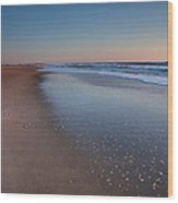 Daybreak On Hatteras II Wood Print