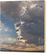 Daybreak Panorama Wood Print
