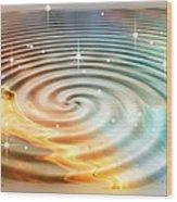 Daydreamer's Pool Wood Print