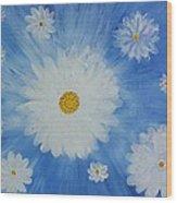 Daydreamin Daisy Wood Print