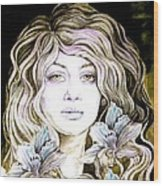 Daylily 2 Wood Print