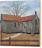 Days Gone By Wood Print