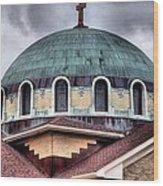Dayton Mosque Wood Print