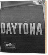 Daytona Dominator Wood Print