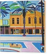 Mckays Irish Pub Daytona Florida Wood Print