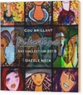 Dazzle Neck Art Collection Wood Print