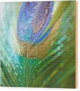 Dazzling Light Wood Print
