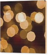 Dazzling Lights Wood Print by Rich Franco