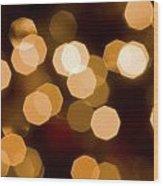 Dazzling Lights Wood Print