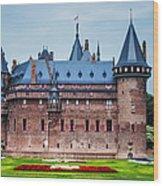 De Haar Castle. Utrecht. Netherlands Wood Print
