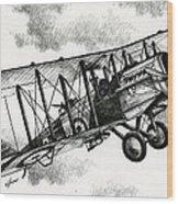 De Havilland Airco Dh.4 Wood Print