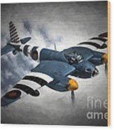 de Havilland Mosquito PR.Mk XVI Wood Print