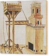 De Re Militari On The Military Arts Wood Print by Everett