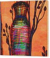 De Vase Wood Print