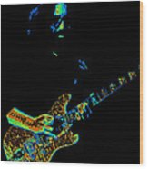Dead #32 Enhanced Cosmic Colors 3 Wood Print