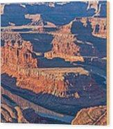 Dead Horse Dawn - Utah Sunrise Photograph Wood Print