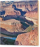 Dead Horse Point Wood Print