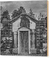 Dead Man's Castle Wood Print