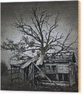 Dead Place Wood Print