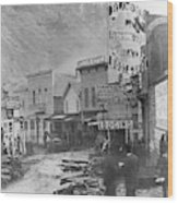Deadwood, South Dakota Wood Print