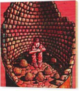 Dealing With Frustration Rage Pain Fear And Sadness Wood Print