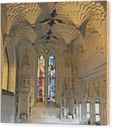 Dean's Chapel Wood Print
