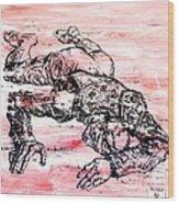 Death Of A Matador Wood Print