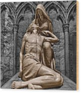 Death Of The Son Of God Wood Print