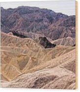 Death Valley # 12 Wood Print