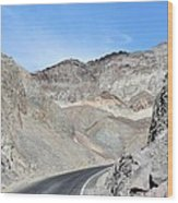 Death Valley # 9 Wood Print