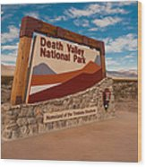 Death Valley Entry Wood Print
