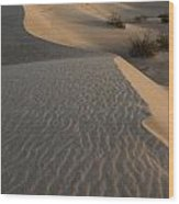 Death Valley Mesquite Flat Sand Dunes Img 0181 Wood Print