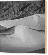 Death Valley National Park Stovepipe Wells Dunes 19 Wood Print