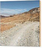 Death Valley Road Wood Print