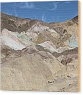Death Valley Rock #2 Wood Print