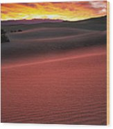 Death Valley Sunrise Wood Print