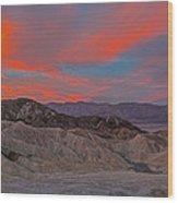 Death Valleyt Wood Print