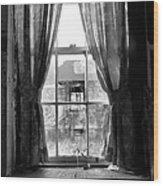 Deaths Window Wood Print