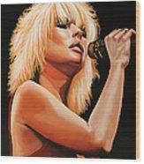 Deborah Harry Or Blondie 2 Wood Print